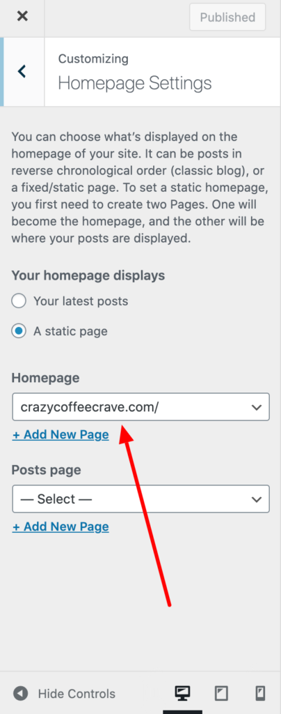 WordPress Basics 101: What Is A Static Front Page? 4