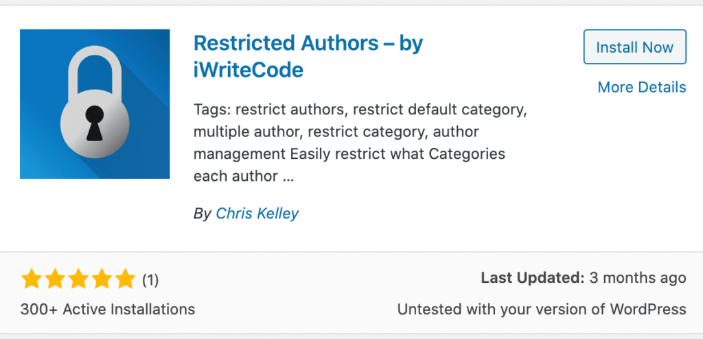 [How to] Restrict Your Authors to Specific Category in WordPress 1