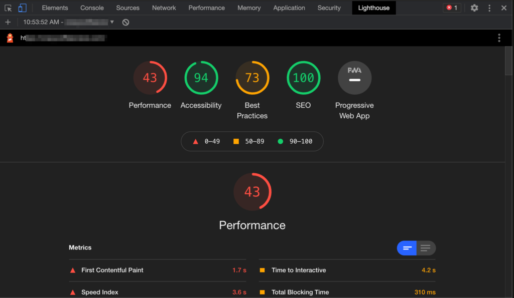 Auditing Your WordPress Site Performance With Lighthouse For Free 4