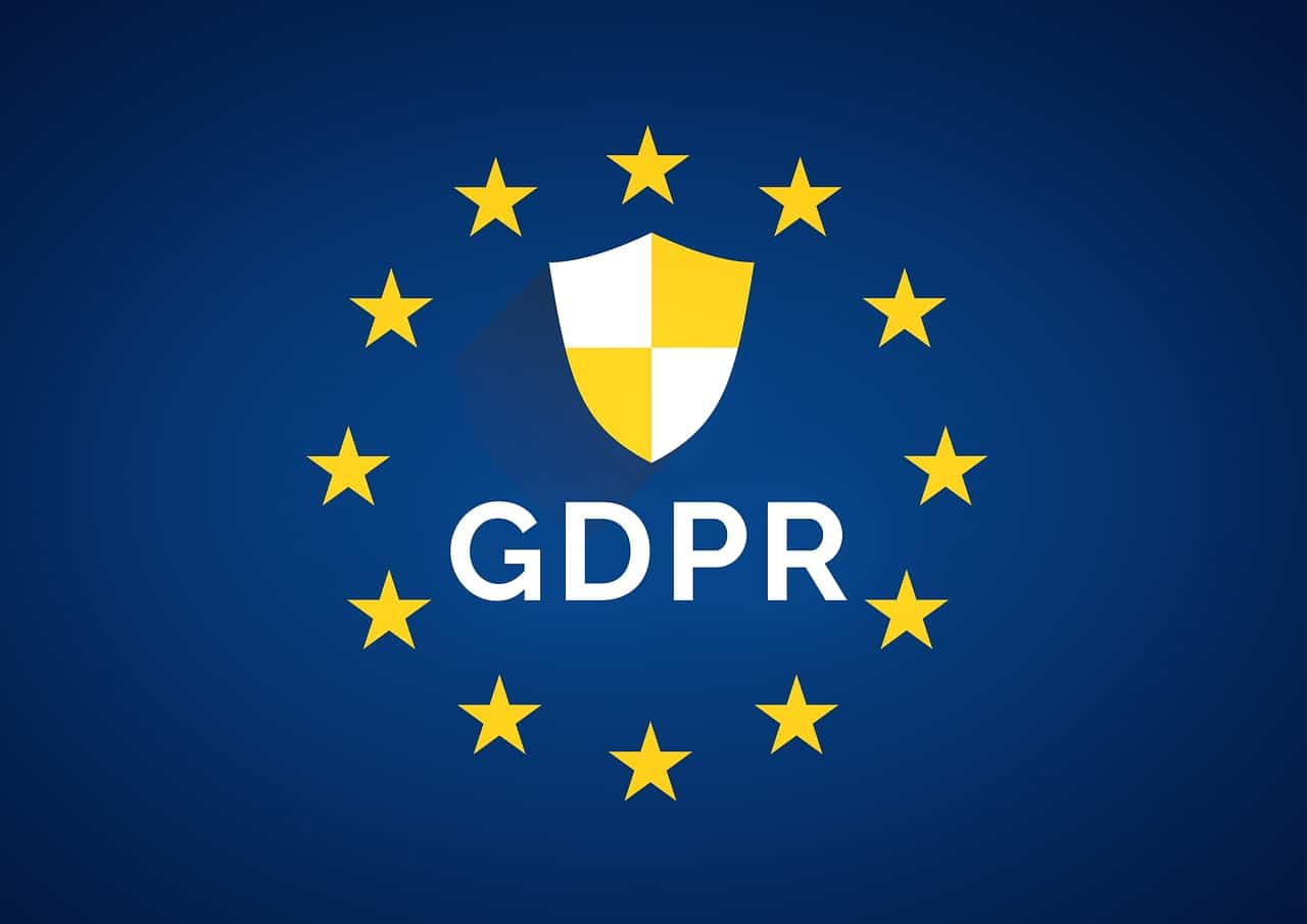 GDPR Symbol privacy policy