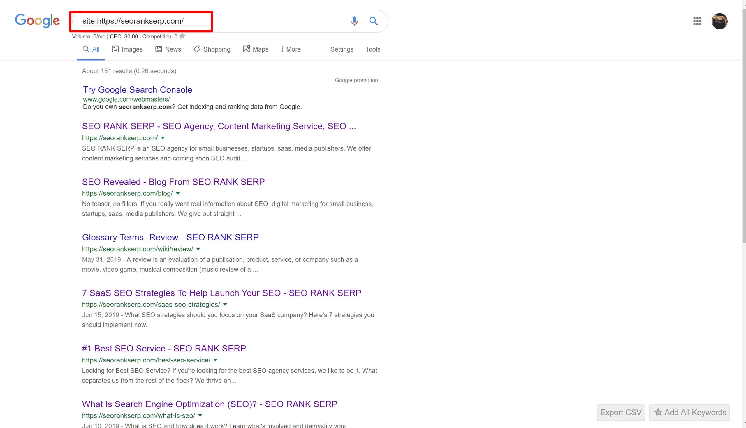 google search site:https://seorankserp.com/