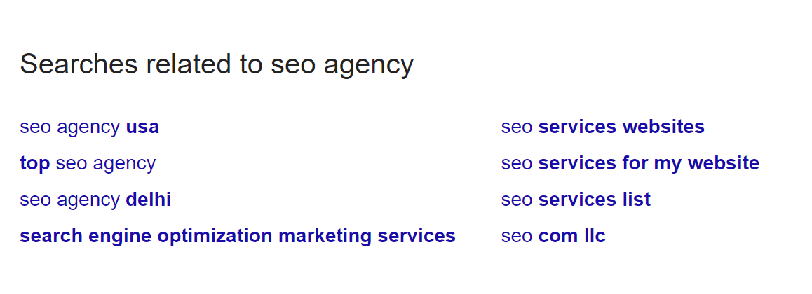 seo agency - Google Search